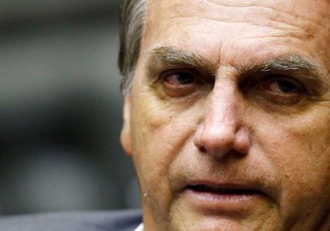 O candidato do PSL à Presidência da República apresentou uma distensão abdominal. (Adriano Machado - Reuters)
