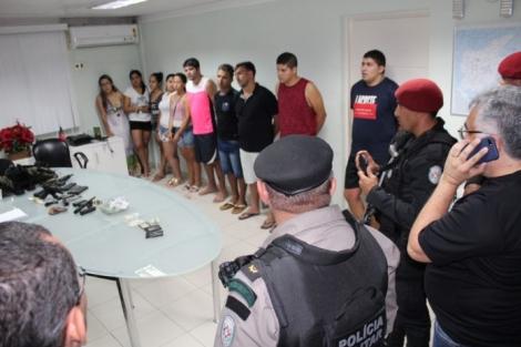 Recapturados são encaminhados ao Presídio PB1, em João Pessoa