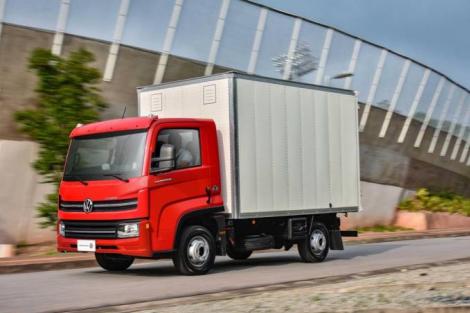 Caminhão Delivery Express dispensa carteira de habilitação para veículos pesados (Volkswagen Caminhões e Ônibus/Divulgação)