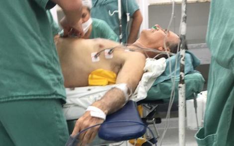 Candidato a presidente passou por cirurgia de emergência ontem à noite