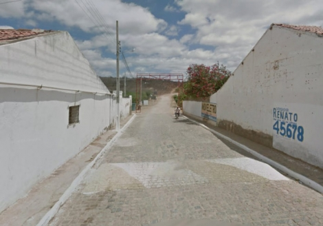 Município de Riacho de Santo Antônio/Google Street View