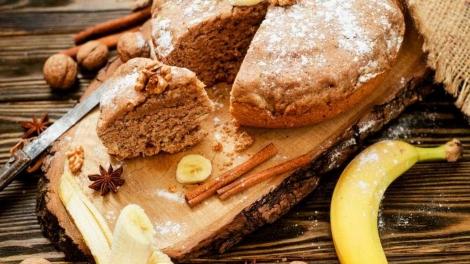 Confira uma deliciosa receita de bolo de banana