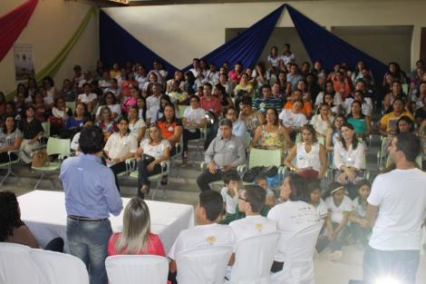 Imagem do 2º Fórum Comunitário Selo Unicef, em Bananeiras (Edição 2013/2016)