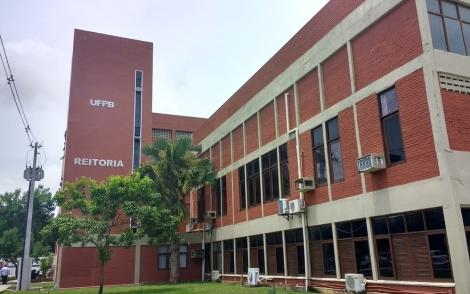Reitoria da Universidade Federal da Paraíba (UFPB) (Foto: Krystine Carneiro/G1/Arquivo)