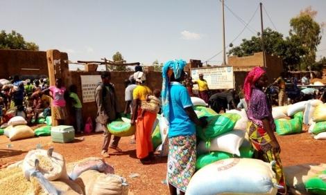 É a segunda ofensiva na região do Sahel em menos de uma semana. Os ataques constantes a cristãos em Burkina Faso têm aumentado o número de pessoas deslocadas no país.  (Foto: Portas Abertas)