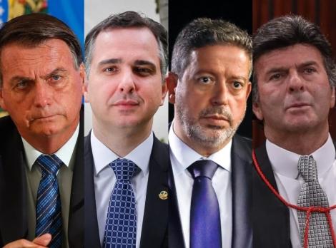 Bolsonaro quer se encontrar com os chefes de todos os Poderes e com governadores. ( Foto: Sérgio Lima/Poder360)