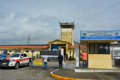 Penitenciária Doutor Romeu Gonçalves de Abrantes, o PB1, em João Pessoa (Foto: Arquivo/Jornal Correio da Paraíba)