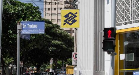 Movimento em agência do Banco do Brasil em Limeira, no interior de São Paulo ROBERTO GARDINALLI/FUTURA PRESS/ESTADÃO CONTEÚDO