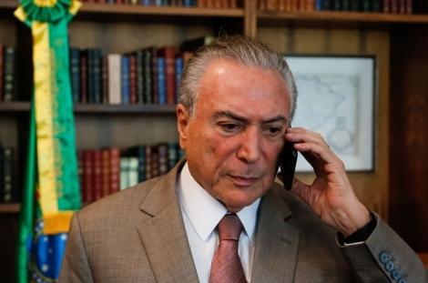 Grampo foi autorizado pelo Supremo Tribunal Federal (Foto: Marcos Corrêa/PR)