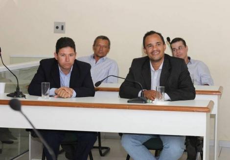 Vereadores Ramom Moreira e Kilson Dantas anunciaram apoio ao presidente Guga Aragão