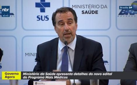Ministro da Saúde, Gilberto Occhi, disse que o Mais Médicos terá limitador de vagas por município
