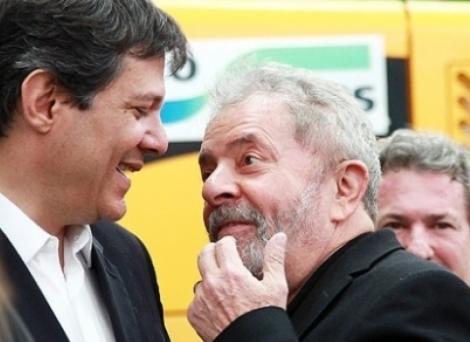 Se não disputar eleições, Lula projeta lançar Haddad como candidato do PT