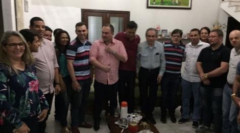 Prefeito de Solânea recebe o senador Raimundo Lira e fortalece parceria