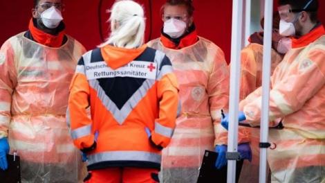 Alemanha tem capacidade de realizar 160 mil testes por semana. (Foto: Getty Images)