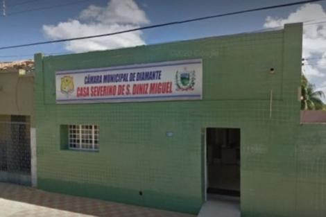 Composição da Câmara Municipal de Diamante deve mudar com a cassação de três vereadores (Foto: Divulgação Câmara de Diamante)