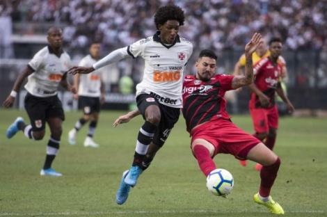 Vasco ficou no empate em casa contra o Athletico-PR (Foto: Delmiro Junior / Photo Premium)
