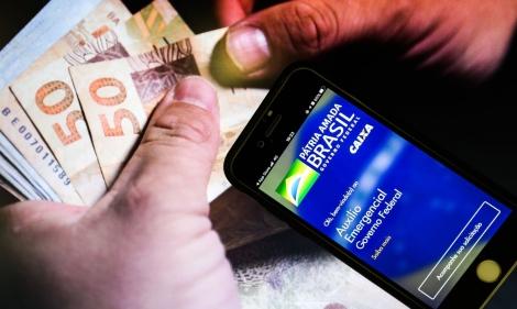 Conta é usada para pagar benefícios como o auxílio emergencial. (Foto: Marcello Casal JrAgência Brasil)