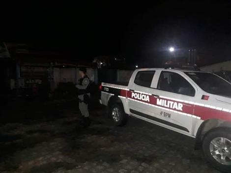 Homem é preso por invasão domiciliar e tentativa de estupro, no Brejo