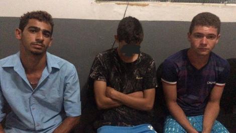 Acusados de roubos a motocicletas são presos em Bananeiras