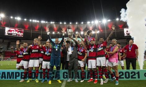Com gols de Michael e Vitinho, Fla se garante em primeiro. (Foto: Alexandre Vidal / Flamengo)