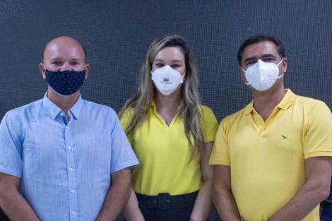 Políticos ficam em quarentena para se recuperarem da covid-19, em Guarabira. (Foto: Reprodução/Instagram)