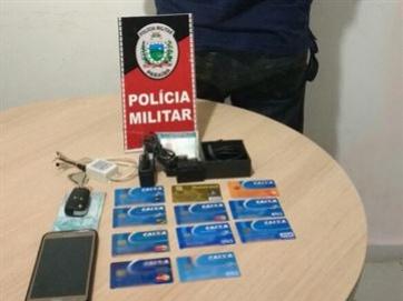 Homem é preso em flagrante em banco de JP com chupa-cabra e cartões roubados