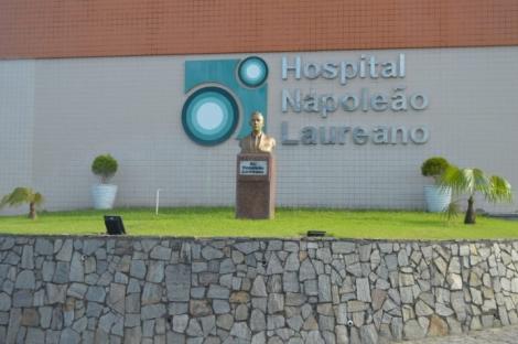 Hospital Napoleão Laureano, em João Pessoa (Foto: Divulgação)