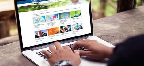 Senai inscreve em vagas para cursos online e gratuitos de qualificação profissional na Paraíba — Foto: Senai-PB/Divulgação