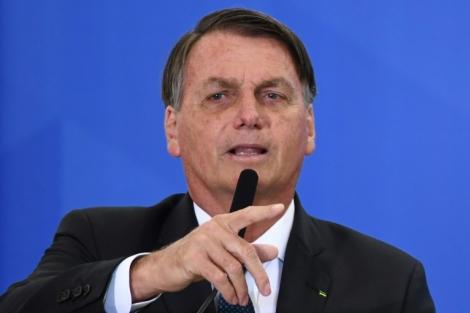 O presidente Jair Bolsonaro (Crédito: AFP/Arquivos)