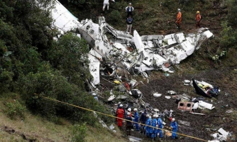Tragédia com avião do time de futebol Chapecoense - Jaime Saldarriaga