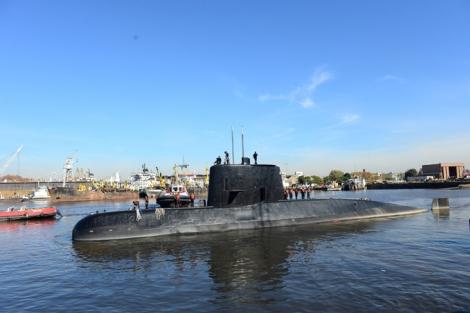 Embarcação com 44 tripulantes está desaparecida desde 15 de novembro (Armada Argentina/Reuters)