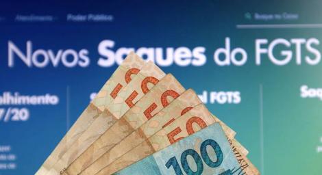 Caixa começa o pagamento para trabalhadores nascidos em janeiro. (Foto: Guilherme Dionízio/Estadão Conteúdo)