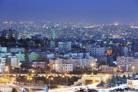 Amâ, capital da Jordânia: país conseguiu manter o coronavírus sob controle, com apenas 11 mortos e menos de 1.200 casos da doença (Adam Pretty/Getty Images)