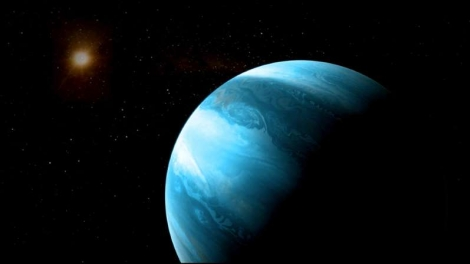 University of Bern O mundo gasoso e sua estrela estão a cerca de 30 anos-luz da Terra