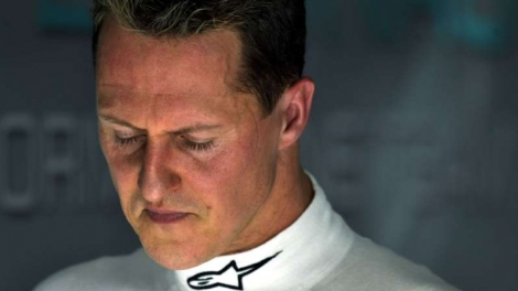 Schumacher durante o GP do Bahrein, em 2010. (Foto: SASCHA SCHUERMANN/AFP/Getty Images)